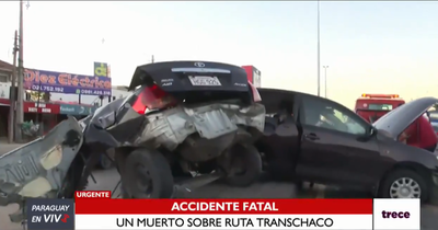 Joven fallece en accidente de tránsito en Mariano Roque Alonso