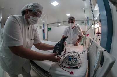 Ocupación de camas de internación llega al 85% reporta Salud Pública