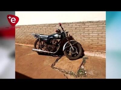 Incautan una motocicleta por exposición al peligro en el tránsito terrestre