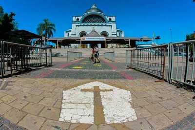 Fase cero de cuarentena sanitaria en perímetro de 300 metros alrededor de la basílica de Caacupé