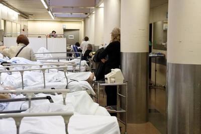 Urgencias del Hospital Regional de Caacupé llaga al tope de ocupación de camas