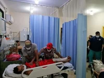 Concepción: Hospital del IPS nuevamente colapsado de accidentados