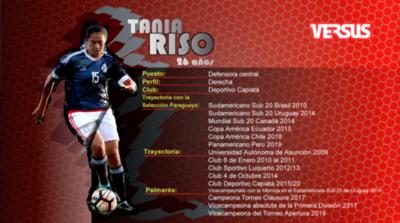 Tania Riso: la triple faceta de una histórica gladiadora del fútbol paraguayo