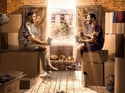 El esperado encuentro entre Messi y CR7 para el último baile del año
