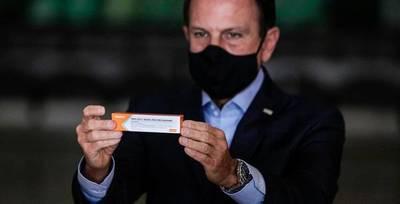 Estado brasileño de San Pablo comenzará vacunación el 25 de enero