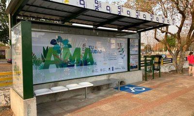 Inaugurarán modernos refugios sustentables para pasajeros del transporte público