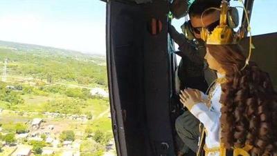 Virgen Peregrina de Caacupé bendice al Paraguay mediante sobrevuelo – Prensa 5