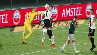 Libertad perdonó, empató ante Palmeiras y va obligado a Brasil