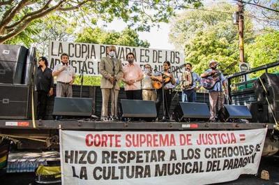 Autores Paraguayos ganan pulseada a empresa privada por derecho autoral