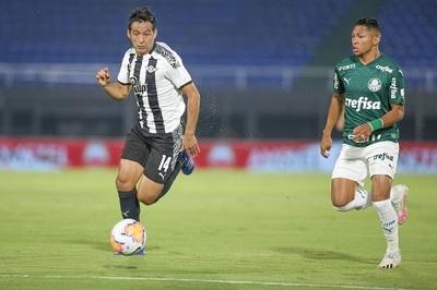 Libertad empata ante el Palmeiras en el partido de ida por la Libertadores