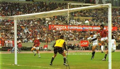 Milan recuerda la Copa Intercontinental ganada a Olimpia