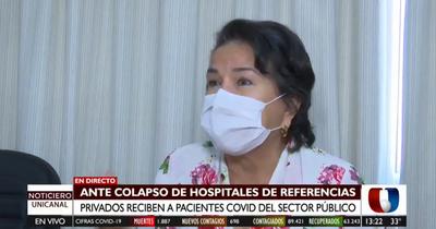 Coronavirus: Hospitales privados reciben a pacientes del sector público