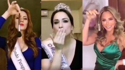 """HOY / Más de 30 exreinas de belleza se unen a desafío viral: """"Fuera Promociones Gloria"""""""
