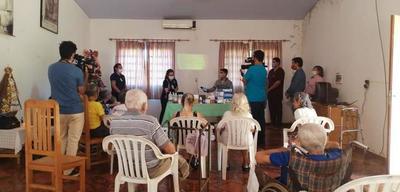 Realizan clausura del Club de Adultos Mayores en Coronel Oviedo – Prensa 5