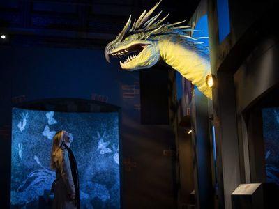 """Los """"animales fantásticos"""" de J.K. Rowling toman vida en un museo de Londres"""