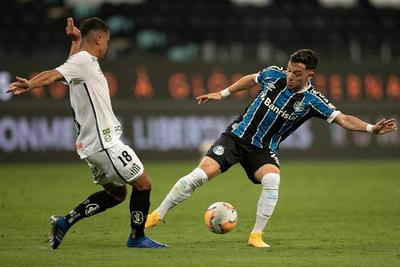 Gremio y Santos se neutralizan en Porto Alegre