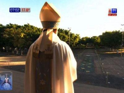 Antes de ingresar a la Basílica, obispo dice que  le brotaron algunas lágrimas