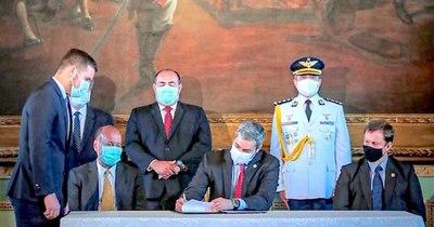 La Nación / Poderes del Estado firman plan de lucha contra la corrupción