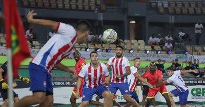 La Nación / Paraguay a cuartos de final del mundial de fútbol de arena