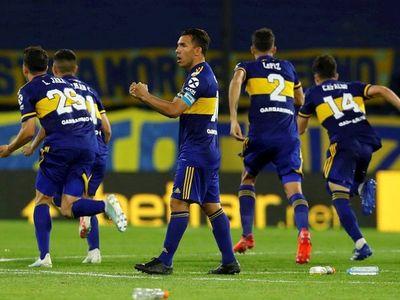 Boca sufre para pasar por penales ante Inter