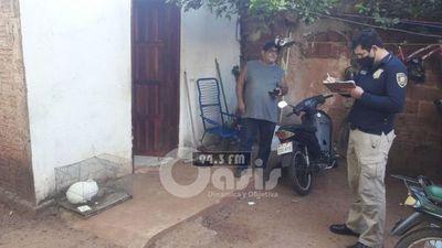 Brasileño fue detenido durante allanamiento en Pedro Juan por supuesto abuso sexual