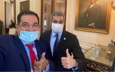 Senador ratifica que Abdo apoya su candidatura a la Intendencia de Asunción