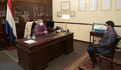 Ministros del TSJE recibieron en visita protocolar al Intendente de Asunción