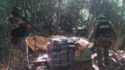 HOY / Tras operativo, incautan más de dos toneladas de marihuana en Alto Paraná