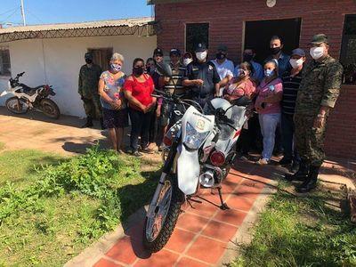 Entregan motocicletas a puestos policiales de Concepción