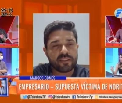 Norita denuncia intento de feminicidio y empresario da su versión