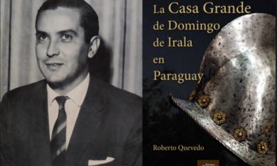 Presentarán libro póstumo de Roberto Quevedo sobre la genealogía de Irala