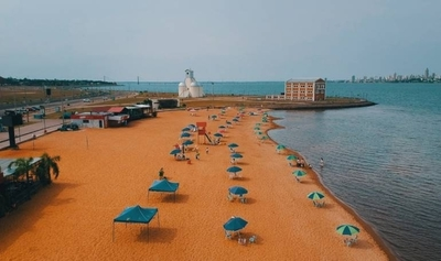 HOY / Municipalidad sostiene que playas de Encarnación ya están habilitadas al contar con protocolo aprobado
