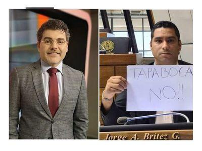 """Luis trató de """"idiota"""" al diputado antitapabocas"""