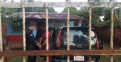 Detenido cuando intentaba robar un vehículo del patio de una vivienda