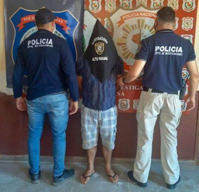 Capturan a supuesto autor de doble homicidio en Minga Guazú