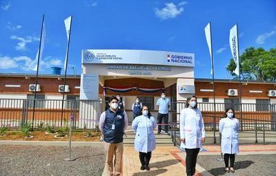 Habilitan nueva USF en el departamento de Alto Paraná