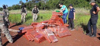Detenido con más de 2.000 kilos de marihuana en poligonal de Itaipú fue imputado