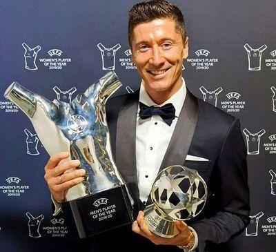 Lewandowski, Messi y CR7 finalistas del 'The Best'