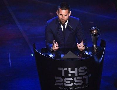 Los tres finalistas del premio 'The Best' de la FIFA