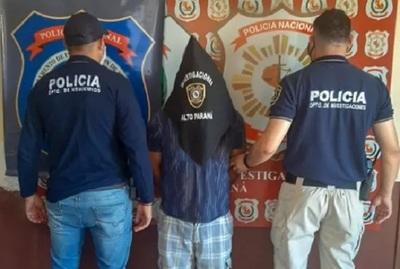 Detienen a sospecho de un doble asesinato en Minga Guazú