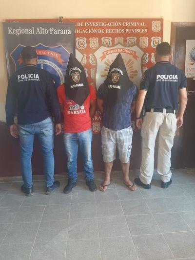 Capturan a supuesto autor de doble homicidio ocurrido en Minga Guazú