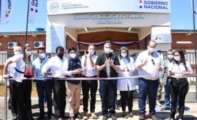 Inauguran cinco nuevas USF en el Alto Paraná