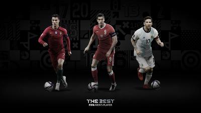 """Sin muchas sorpresas: Dan a conocer la lista de los finalistas del premio """"The Best"""" de la FIFA"""