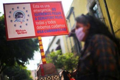 Capital mexicana se declara en emergencia por nuevo repunte COVID-19