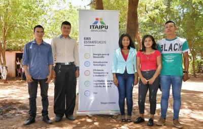 Itaipú incorpora a los primeros aprendices indígenas