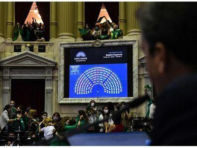 Argentina: Diputados avala ley del aborto,  ahora pasa a Senado