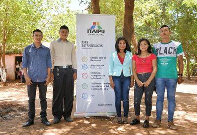 Jóvenes Ava Guaraní se incorporan a la fuerza laboral de la mano de ITAIPU