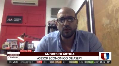 Asepy sostiene que solo el 40% del sistema financiero otorgó créditos a emprendedores