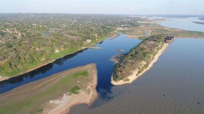 Denuncian un nuevo caso de contaminación al río Paraguay en San Antonio