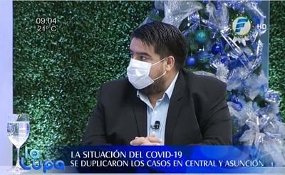 Aumento de casos de Covid-19 satura camas en Terapia
